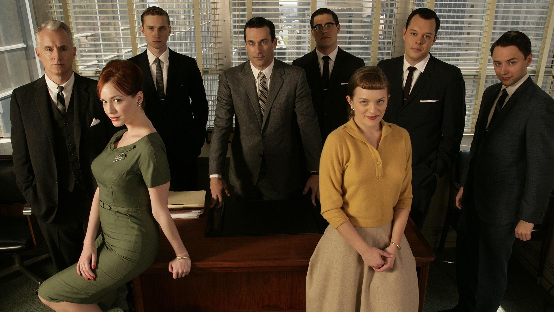 The Mad Men cast in Season 1